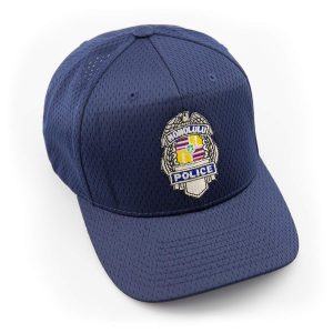 HPD Silver Badge Adjustable Cap - Navy Blue