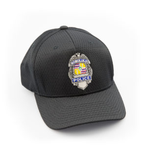 HPD Silver Badge Adjustable Cap - Black