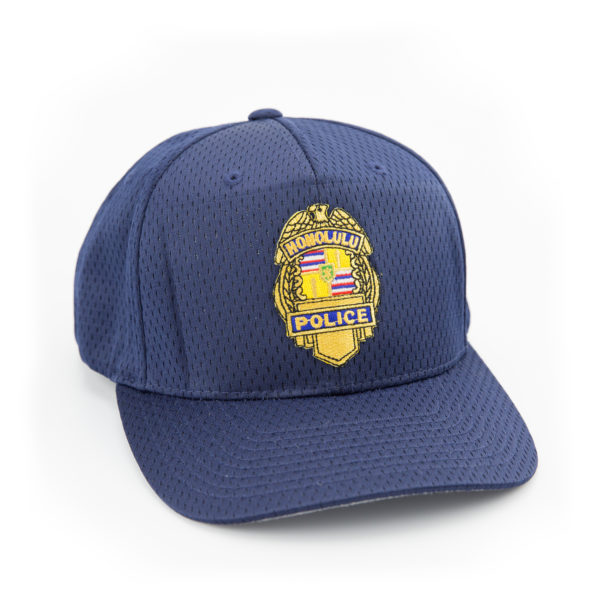 HPD Gold Badge Adjustable Cap - Navy Blue