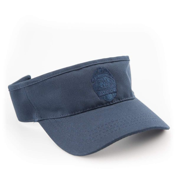 HPD Adjustable Embroidered Badge Visor - Navy Blue