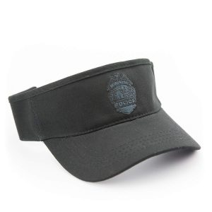 HPD Adjustable Embroidered Badge Visor - Black