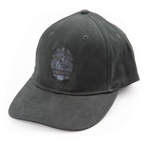 HPD Fitted Embroidered Badge Cap - Black
