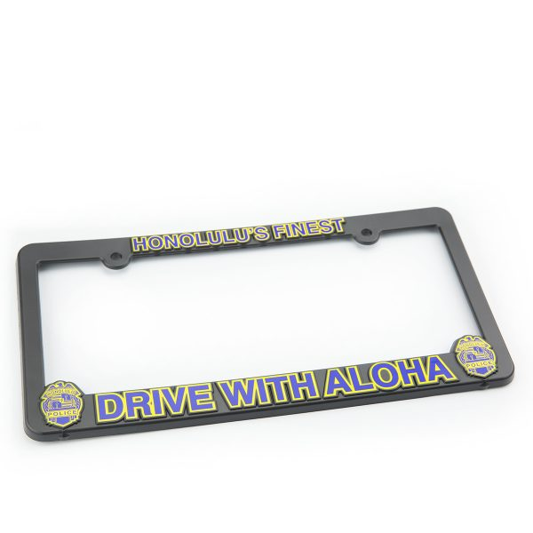 HPD Plastic License Frame