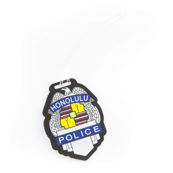 HPD Silver Badge Luggage Tag