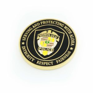 "HPD 1.5"" Challenge Coin"