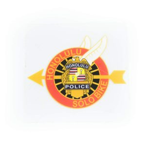 HPD Solobike Inside Window Decal