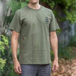 HPD 50 Finest Cotton Adult T-Shirt - Military Green