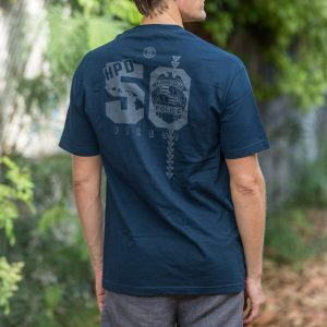 HPD 50 Finest Cotton Adult T-Shirt - Navy Blue