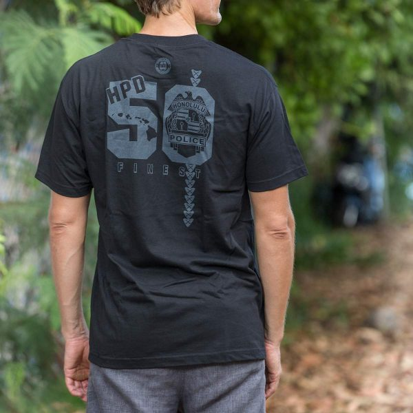 HPD 50 Finest Cotton Adult T-Shirt - Black