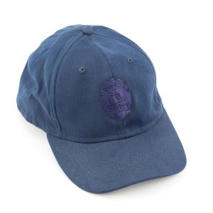 HPD Fitted Embroidered Badge Cap - Navy Blue