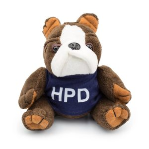 HPD Plush Bulldog