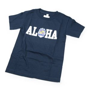 HPD Aloha Children T-Shirt Navy