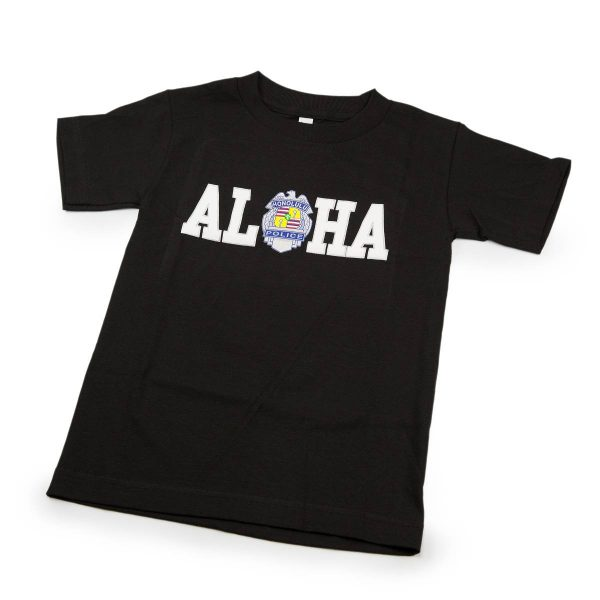 HPD Aloha Children T-Shirt Black