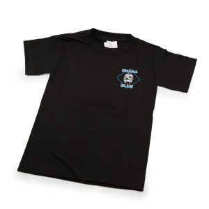 HPD Brand Children T-Shirt Black