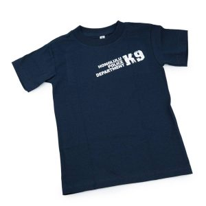 HPD K9 Paw Children T-Shirt Navy