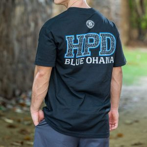 HPD Tribal Bold T-Shirt Black