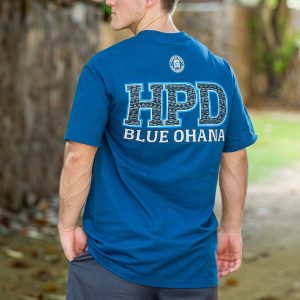 HPD Tribal Bold T-Shirt Harbor Blue