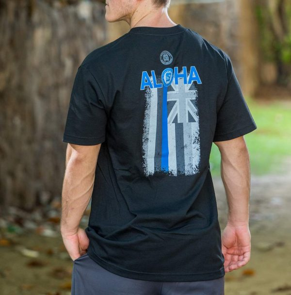 HPD Aloha Flag T-Shirt Black