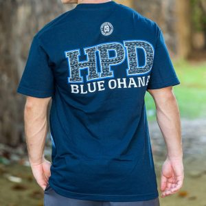 HPD Tribal Bold T-Shirt Navy Blue
