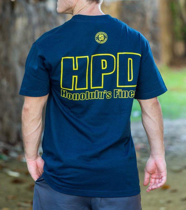 HPD Bold T-Shirt Navy Blue