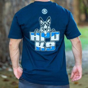 HPD K9 T-Shirt Navy Blue