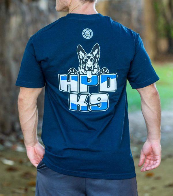 HPD K9 T-Shirt Navy Blue