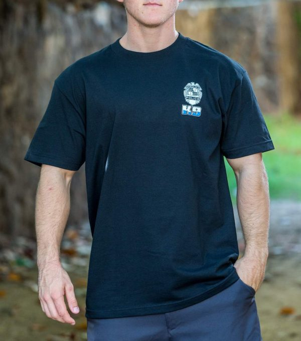 HPD K9 T-Shirt Black