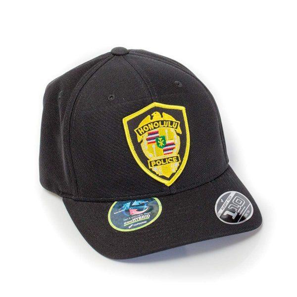 HPD Gold Patch OSFA Cap - Black