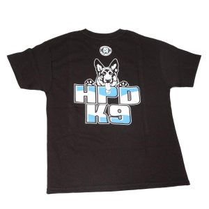 HPD K-9 Children T-Shirt Navy Black