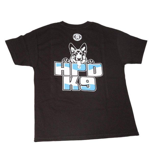 HPD K-9 Children T-Shirt Navy Black
