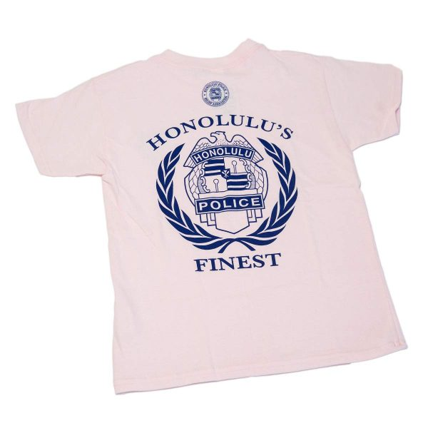 HPD Batch Wreath Children T-Shirt Pink