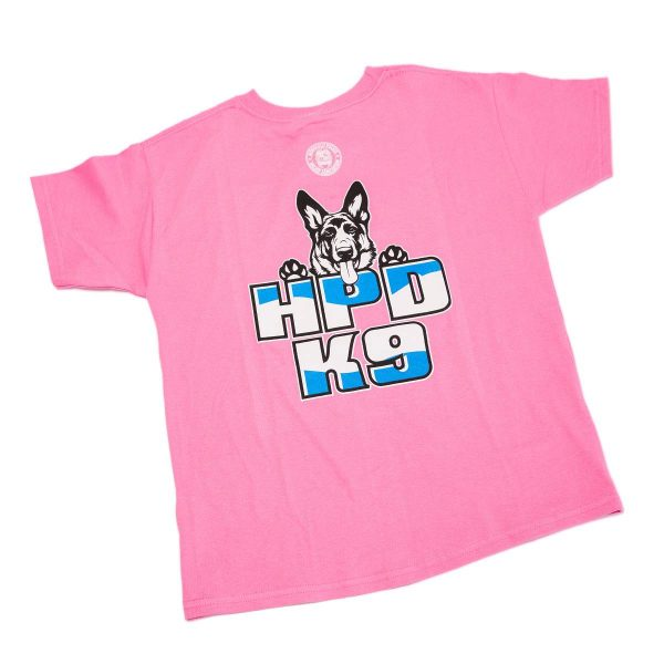 HPD K-9 Children T-Shirt Pink