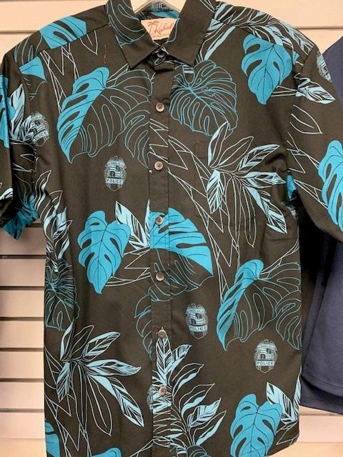 HPD Kahala Aloha Shirt Black