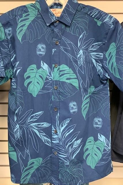 HPD Kahala Aloha Shirt Blue
