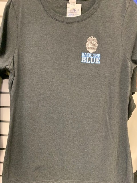 HPD Back the Blue Adult T-Shirt