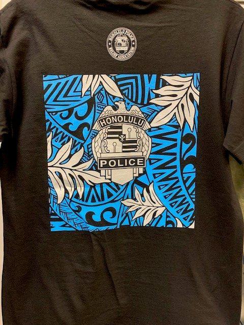 HPD Floral Block T-Shirt Black