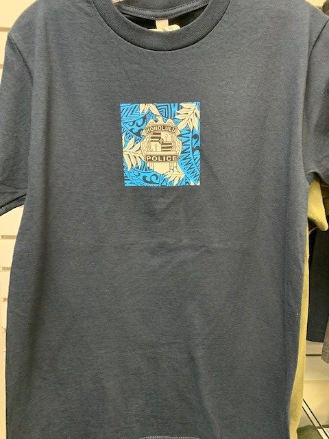 HPD Floral Block T-Shirt Navy