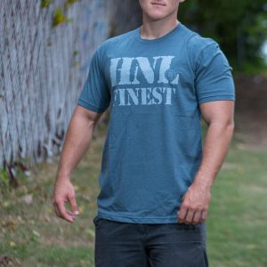 HNL Finest Adult T-Shirt Indigo