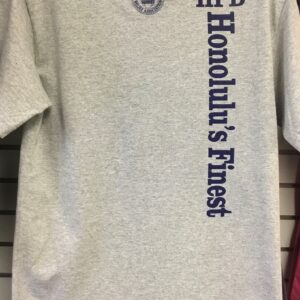 HPD Horizontal Adult T-Shirt Heather Gray