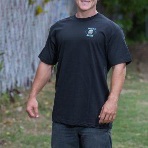 HPD Brand Adult T-Shirt Black