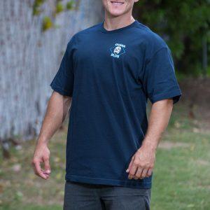 HPD Brand Adult T-Shirt Navy Blue